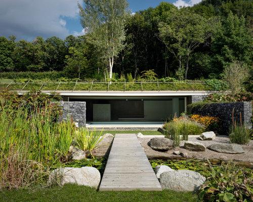 Giardino formale contemporaneo foto idee per arredare e for Giardini moderni foto
