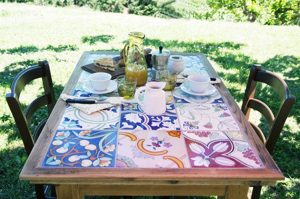 Recuperare un tavolo con piano in piastrelle - Tavolo con piastrelle ...