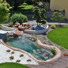 Giardini d 39 acqua san pietro in gu pd it 35010 for Laghetti termoformati