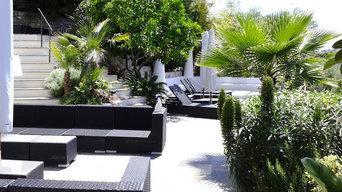 giardino forme libere