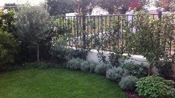 Giardino privato a Vicenza