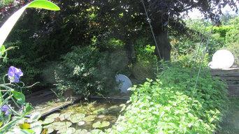 Giardino privato in Brianza