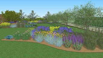 Giardino privato in stile naturale