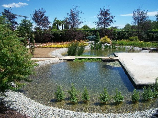 Top moderno giardino by tiglio and company with progettare il giardino - Progettare il giardino ...