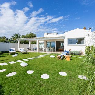Foto di un giardino stile marinaro
