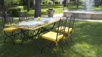 Pescara ceramic table