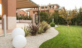 Un giardino moderno