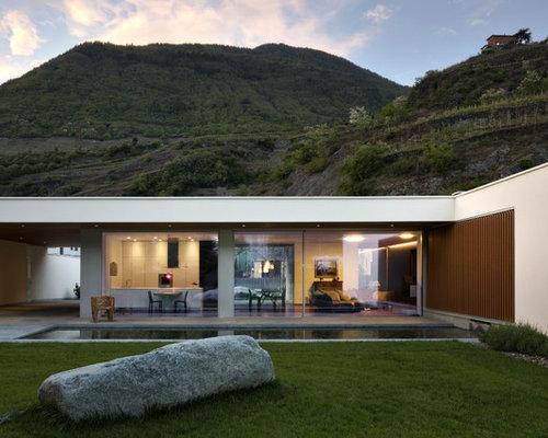 Foto e idee per esterni esterni moderni torino for Foto giardini moderni