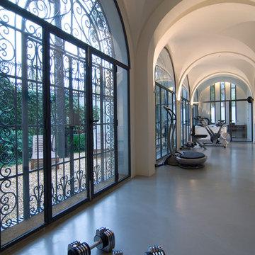Centro Fitness en una finca modernista