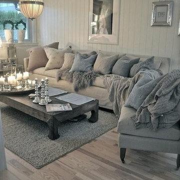 38 Charming Shabby Chic Living Room Designs