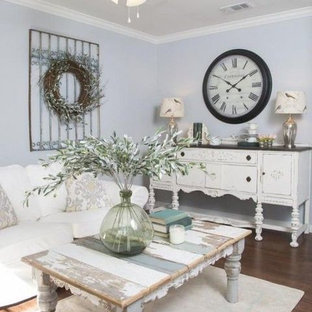38 Charming Shabby Chic Living Room Designs