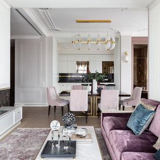 Неиссякаемый источник вдохновения для домашнего уюта: гостиная комната в современном стиле