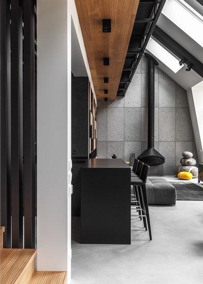 Contemporary Living Room by DesignRocks