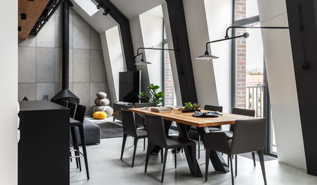 Houzz Tour: This Flat Shows How to Bring Warmth To Industrial Chic