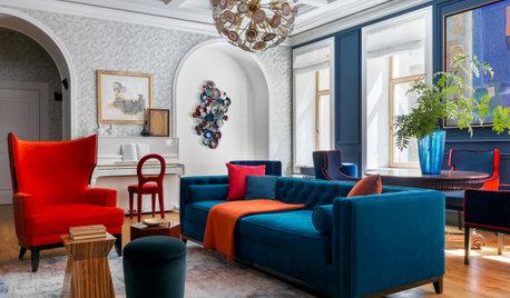 Houzz тур: Квартира на «барском этаже» в Санкт-Петербурге