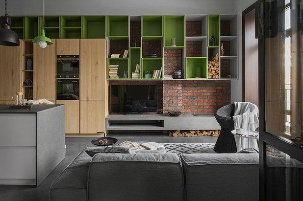 Лофт Семейная комната by PROforma проектная группа
