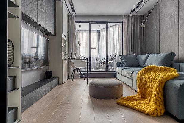 Современный Семейная комната by VYAZMINOVA & SELVINSKY ARCHITECTS