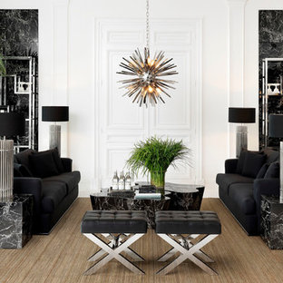 Black And Silver Living Room Ideas And Photos Houzz