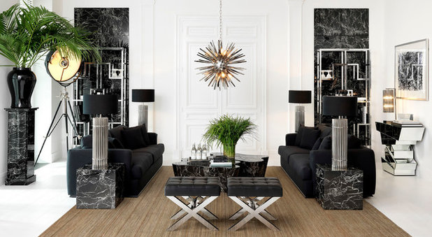 Contemporary Living Room by IDC Collection ~ Eichholtz