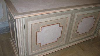 Декоративная покраска предметов мебели