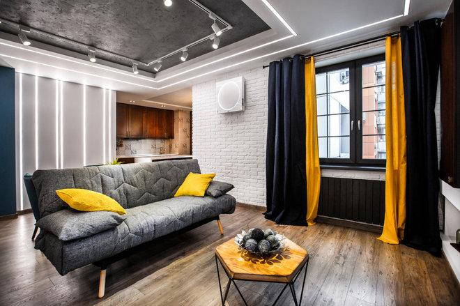 Современный Гостиная by Студия дизайна Four rooms