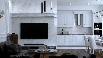 Дизайн проект 2-х комнатной квартиры в Казани