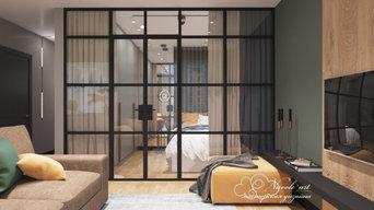 Дизайн проект квартиры до 100 м2 ЖК Седьмой континент