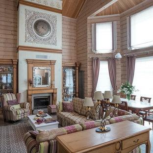 Дом из клееного бруса для большой семьи.