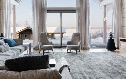 В гостях: Дом на озере — со стеклянными фасадами и фитостеной
