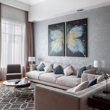 Дом Новая рига - Фото. 100 кв.м. Реализованный проект