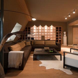 Moderne Wohnzimmer mit Kaminofen Ideen, Design & Bilder | Houzz