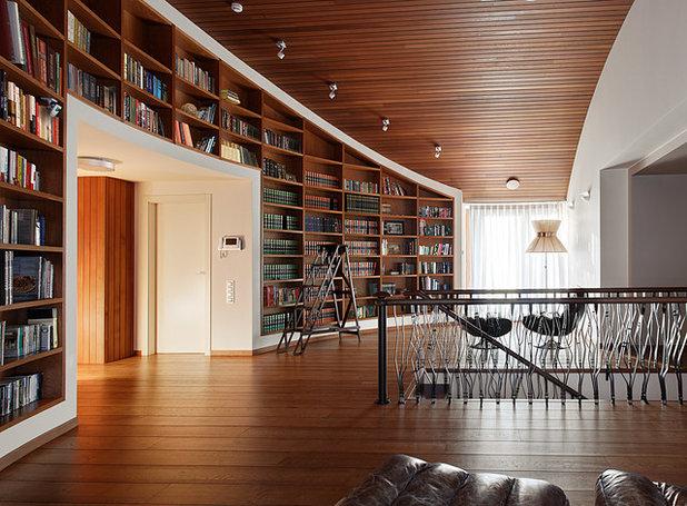 Современный Семейная комната by Архитектурное бюро Карцева и Вишнепольской