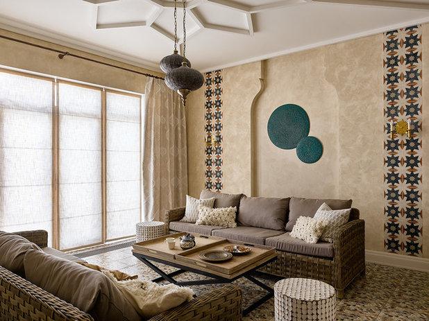 Средиземноморский Семейная комната by Lavka-Design