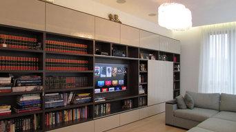Домашний кинотеатр в гостиной. Denon, B&W, Sony