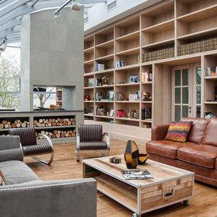 Idee per un grande soggiorno industriale