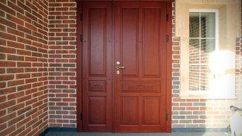 Двери в роскошный дом в г.Краснодаре