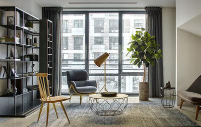 Houzz тур: Квартира с двумя гостиными
