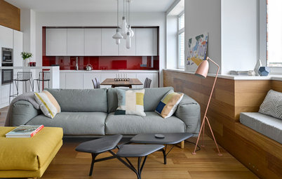 Houzz Tour: An Interplay of Materials and Patterns in Moscow