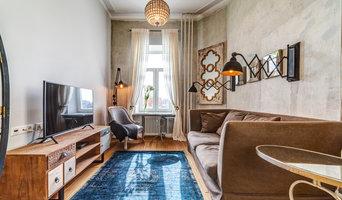 Фотосъемка интерьера однокомнатной квартиры-студии в центре Москвы