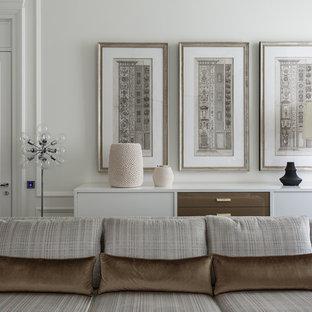 Создайте стильный интерьер: гостиная комната в классическом стиле с белыми стенами - последний тренд