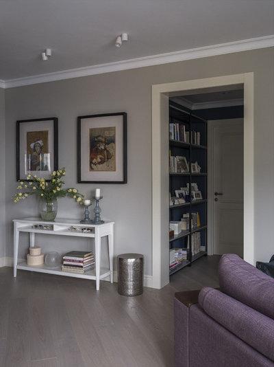Неоклассика Гостиная by MO interior design