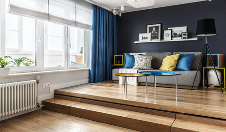 Houzz Tour: Clever Studio Apartment Sleeps 4 in 463 Square Feet