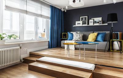 Come Creare Un Monolocale per Quattro Persone con Balcone-Ufficio