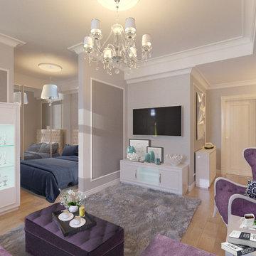 Interior design small apartment