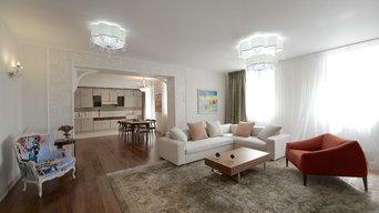 Интерьер квартиры 120 кв.м.