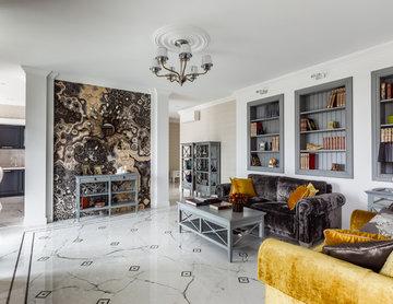 Интерьер квартиры в стиле эклектика