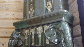 Камин со слонами во Владимире