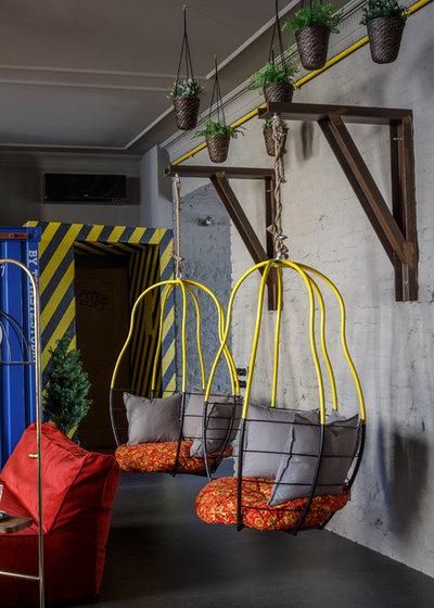 Eclectic Living Room by Totaste.studio   Виктор Штефан