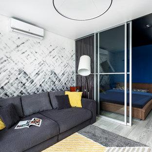 Удачное сочетание для дизайна помещения: гостиная комната в современном стиле без ТВ - самое интересное для вас