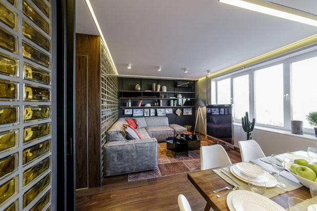 Современный Гостиная by Архитектурное бюро LOFTING